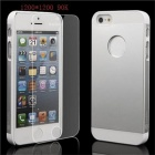 Poplar PS-5S Protective Tempered Glass Screen Protector for IPHONE 5S / 5 / 5C - White