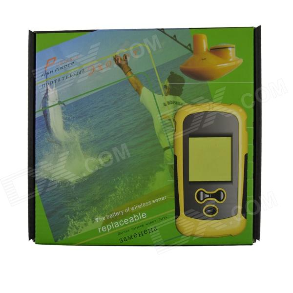 1108r portable 2.1'' lcd 130f wireless sonar fish finder (4 x aaa, Fish Finder
