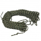 Survival Parachute Cord Paracord - Camouflage Green (30m)