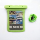 POPLAE HY-803 Waterproof Bag for IPHONE 4 / 4S / 5 / 5C / 5S - Green