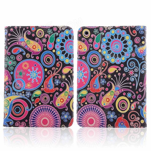 Graffiti Series Jellyfish Style PU Leather + Plastic Case for IPAD MINI / RETINA IPAD MINI coteetci w6 luxury stainless steel magnetic watchband for apple watch series 1 series 2 38mm gold