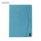 USAMS IPASL03 PU Leather + PC Case for IPAD AIR - Light Blue
