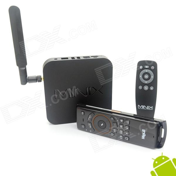 MINIX NEO X8-H Quad-Core Android 4.4.2 Google TV Player w/ 2GB RAM, 16GB ROM, SD + F10 Air Mouse