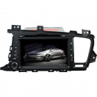 "LsqSTAR 8"" Touch Screen 2-DIN Car DVD Player w/ GPS, AM, FM, RDS, 6CDC, AUX for Kia K5 / OptIma"