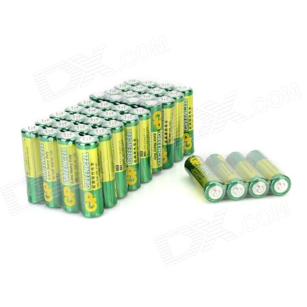 GP 15G 1.5V AA Battery - Green + White + Multi-Colored (40 PCS)