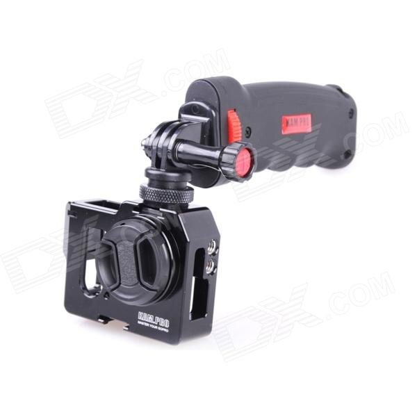 Suojakotelo + Ultrathin UV Suodattimet + CPL Polarisaatiokalvo for GoPro Hero 4/3 - Musta