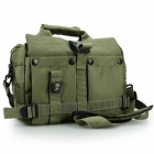 DSTE DT01074 Nylon Shoulder Bag for Canon / Nikon / Sony / Samsung / Fuji SLR + More - Army Green