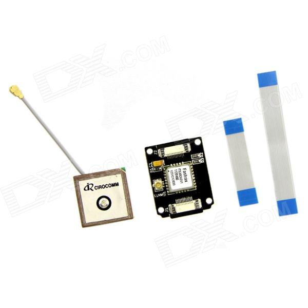 Seeed SEN07112P Xadow-GPS GNSS mottakermodul for Arduino - Black + Brown