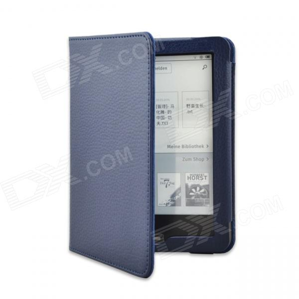 Lychee Grain Style Protective PU Leather Case for Tolino Vision 6