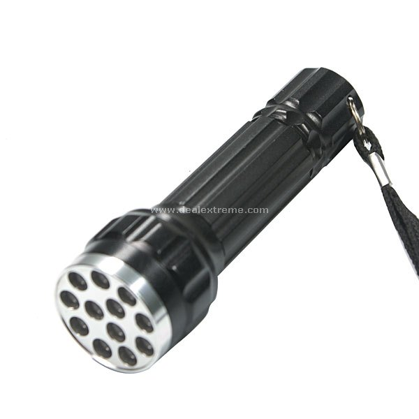 12-LED Slim Flashlight (1x AA)
