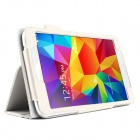 "Lychee Grain Style Protective PU Leather Case for Samsung Galaxy Tab 4 T230 7"" - White"