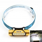 KINFIRE Luminus 6-SMD 5730 LED 220lm White Light 3-Mode Flashlight Headlamp - Golden (1 x 18650)