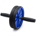 Rolling Dual Exercise Wheel with Knee Pad