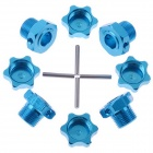 1/8 Tires Adapters Set - Blue