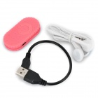 S-Qual Biscuit Shaped 3,5 milímetros MP3 Player w / TF - rosa