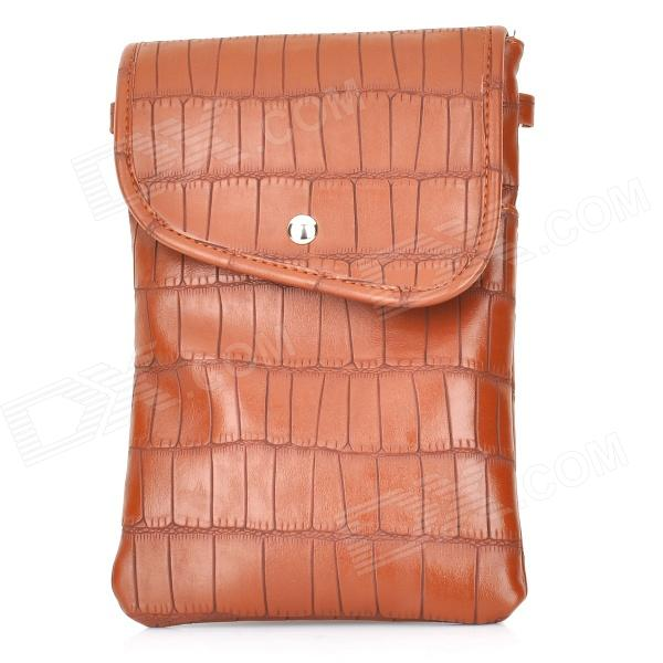 PU Shoulder / Messenger Bag for IPAD Mini - Brown
