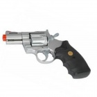 "Genuine CROWN MODEL COLT PYTHON .357Magnum 4""STAINLESS TYPE - Silver"