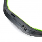 Sports sem fio Behind-the-Neck MP3 Headphones w / TF / FM / USB - Preto + Verde