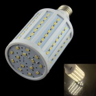 HZLED E27 18W 1600LM 3000K 98-SMD 5630 LED Warm White Light - White (220~240V)