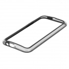 Protective TPU + PC Bumper Frame for HTC One M8 - Black + Transparent