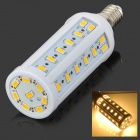 E14 10W 900lm 3500K 50-5730 SMD LED Warm White Lamp - White + Yellow + Multicolored (AC 220V)