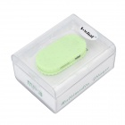 S-What Biscuit Shaped 3.5mm MP3 Player w/ TF - Green