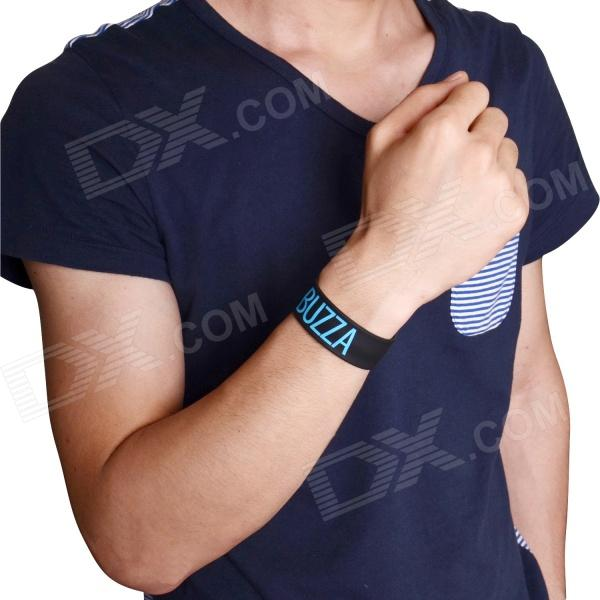 Sports Stylish Mosquito Repeller Slap Wrist Band - Black