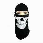 Outdoor Sports Cycling Cotton Face Mask - Black