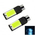 WaLangTing Decoding-Free 5W 140lm 48-COB-LED-Ice Blue Light Car Breite Lampe - Grün (2 PCS)
