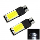 WaLangTing Decoding-Free 5W 140lm 6000K 48-COB-LED White Light Car Breite Lampen - Gelb (2 PCS)