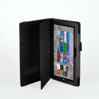 Protective PU Leather Case for Microsoft Windows Surface Pro 3 12'' - Black