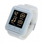"Uwatch U8 Wearable 1.48"" Touch Screen Watch Phone w/ Bluetooth & Pedometer - White"