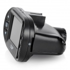 "LTPS-4 1.5"" LTPS Screen 1/2.7"" CCD 5.0MP Car DVR w/ 4-IR-LED / G-sensor - Black (DC 5V)"