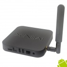 MINIX NEO X8-H Quad-Core Android 4.4.2 Google TV Player w/ 2GB RAM, 16GB RON, Dual-Band Wi-Fi -Black