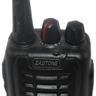 Zastone ZT-Q8 UHF 16-CH High / Low Band professionell Radio / Walkie Talkie - svart