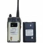 "Zastone ZT-Q5 UHF / VHF 99-CH Radio / Walkie-Talkie w / 1,4"" LCD Display - Black"
