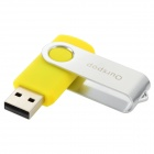 Ourspop U019 Externo USB 2.0 Flash Disk Device - amarillo + Silver (4GB)