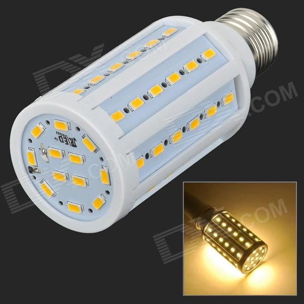 JRLED E27 13W 900im 3300K 60-5730 SMD LED Warm White Light Bulb - White + Beige (AC 220~240V) lexing lx r7s 2 5w 410lm 7000k 12 5730 smd white light project lamp beige silver ac 85 265v