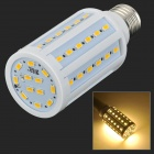 JRLED E27 13W 900im 3300K 60-5730 SMD LED Warm White Light Bulb - White + Beige (AC 220~240V)