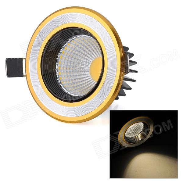 XIANQIN TH-C-03-022-N 3W 270lm 3000K 1-COB LED Warm White Ceiling Lamp - Golden + Silver (175~265V) husqvarna k 3000 cut n break б у