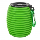 Bluetooth V3.0 + EDR MP3 Speaker w/ Mic / Hands Free Call for Cellphone - Green