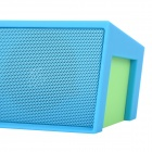 V3.0 Sardinhas Oblong Bluetooth 2.0-CH Stereo Speaker / Music Set Player w / TF / FM - Azul (DC5V)