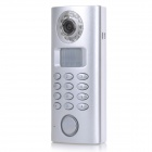 SP61C-R DIY 130dB Wireless Solar Powered Camera Alarm Set w/ Auto Dial Function - Silver (3 x AA)