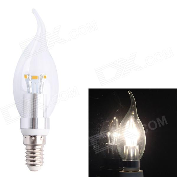 E14 3W 190lm 2700K 6-SMD 5630 LED Warm White Candle Light (AC 85~265V)