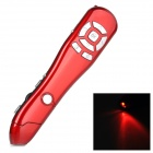 ZAP CPM-02 2.4GHz USB 2.0 Wireless Red Laser Pen Mouse w/ Indicator - Red