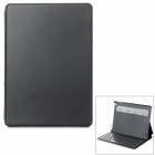 Yerj-9016B 61-Key Bluetooth V3.0 Keyboard w/ Protective Shell Case for IPAD AIR - Black + Silver