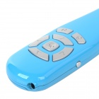 ZAP ZAP-CPM 2.4G USB 2.0 Wireless Laser Pen Mouse w/ Receiver + Charging Cable - Blue