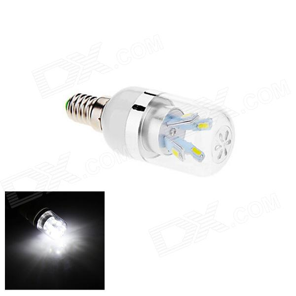 E27 5W 110lm 6500K 8-SMD 5630 LED White Light Lamp Bulb (AC 85~265V) e14 5w 110lm 3000k 8 smd 5630 led warm white light lamp bulb ac 85 265v