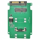 2.7cm mSATA to SATA Adapter Card - Green