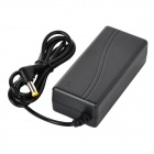 3A 12V Power Adapter w/ US Plug Power Cable for Camera Light - Black